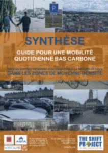 Synthèse du guide pour une mobilité quotidienne bas carbone
